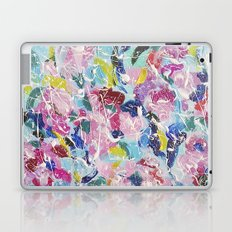 Abstract floral painting 2 Laptop & iPad Skin
