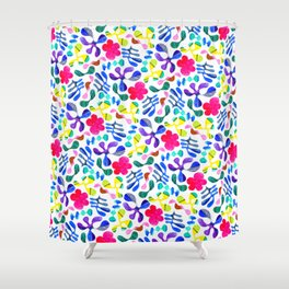 Wildwood Floral Shower Curtain