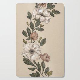 Floral Laurel Cutting Board
