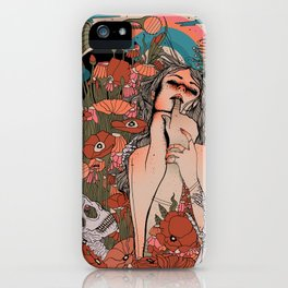Lustful Life iPhone Case