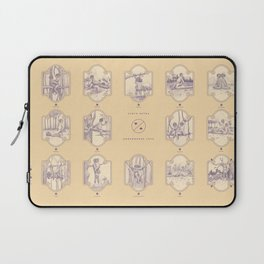 Endangered Love - Sloth Sutra Laptop Sleeve