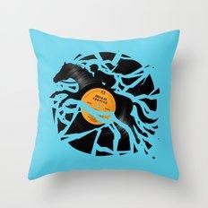 Disc Jockey Throw Pillow