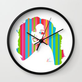 Donna Summer   Pop Art Wall Clock