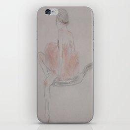 Tiny Ballerina iPhone Skin