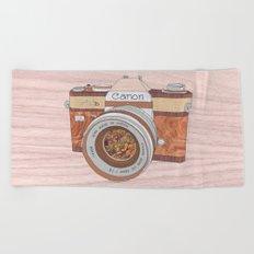 Wood Canon Beach Towel