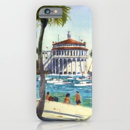 Avalon, Catalina Island iPhone Case