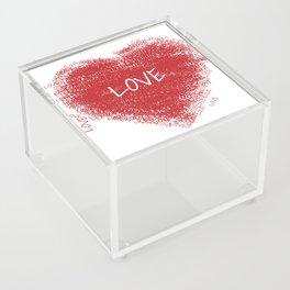 mio cuore Acrylic Box