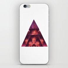 Space Trigon iPhone & iPod Skin