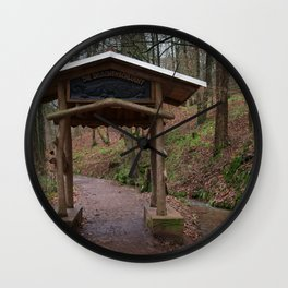 Drachenschlucht Wall Clock