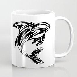 Orca Tribal Tattoo Design Coffee Mug