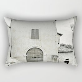 Italian street view Rectangular Pillow