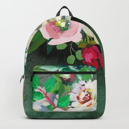 Flowers bouquet #45 Backpack