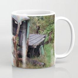 American Truck Wreck, New Plymouth, New Zealand Coffee Mug