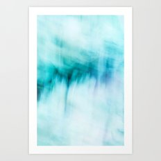 Abstract Waterfall Art Print