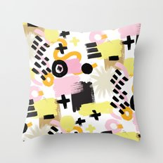 Perception Abstract 001 Throw Pillow