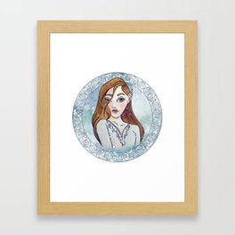 FEYRE Framed Art Print