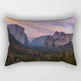Yosemite Sunset Rectangular Pillow