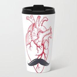 Hipster at heart Travel Mug
