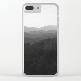 Laos Mountains Clear iPhone Case