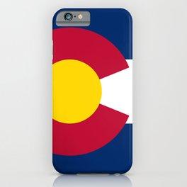 Flag of Colorado iPhone Case