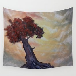 Loneliness Of Nature Wall Tapestry