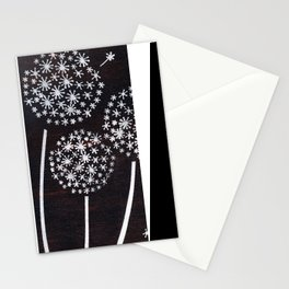 Dandelion Puff Stationery Cards