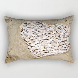 Love on the Beach Rectangular Pillow