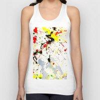 splatter Tank Tops featuring Paint Splatter  by Gravityx9