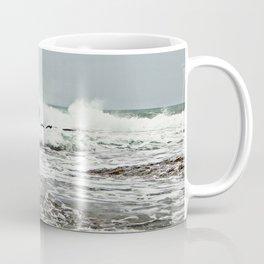 Sea Breaks on the Tidal Shelf Coffee Mug