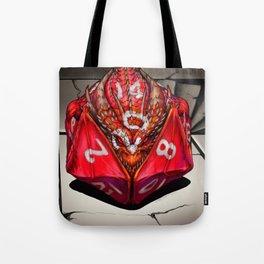 D20 Dragon Dice gaming art Tote Bag