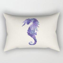 Cosmic Seahorse  Rectangular Pillow
