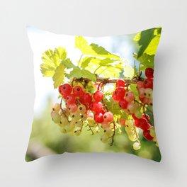 Sunny Ribes Throw Pillow