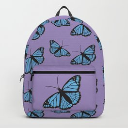 Blue viceroy butterfly Backpack