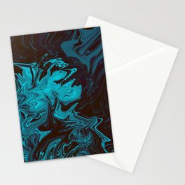 ABSTRACT LIQUIDS XXXIII Stationery Cards
