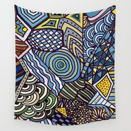 Midnight Wanderlust Zoom 1 Wall Tapestry