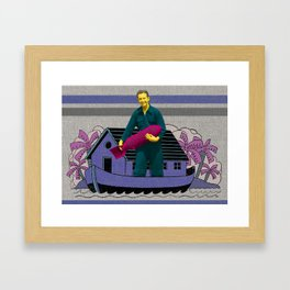 Any expansive feeling you experience may be rained on today  Framed Art Print