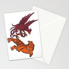 Cocks vs Tigers Stationery Cards