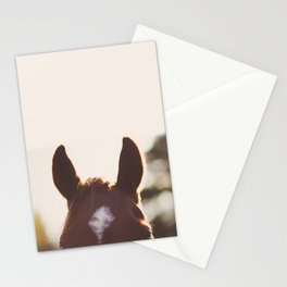 I'm all ears. Stationery Cards