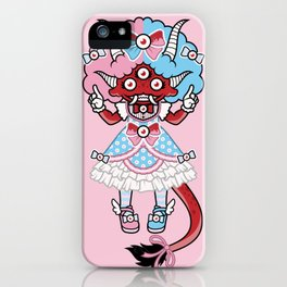 Eye Am Kawaii Krampus iPhone Case