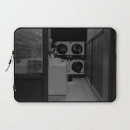 The Laundromat B&W Laptop Sleeve