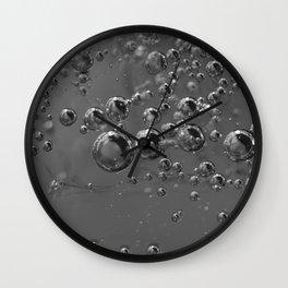 Iced drops Wall Clock