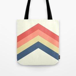 Retro Geometric Tote Bag
