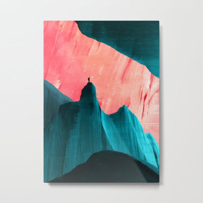 We understand only after Metal Print
