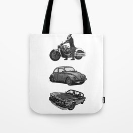 Speed-shoppe Tote Bag