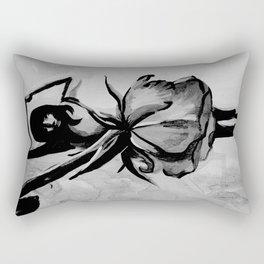 Dancing rose Rectangular Pillow