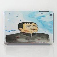 crowley iPad Cases featuring supernatural crowley by meldemirci