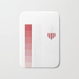 Womens USA T-shirt | Cool USA Soccer V-Neck T-Shirt Bath Mat