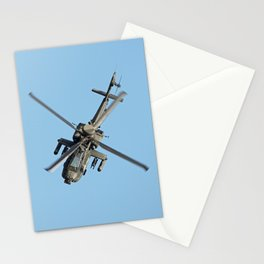 Apache on the Attack Stationery Cards
