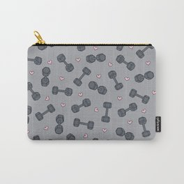 I LOVE STRENGTH (Light Background Option) Carry-All Pouch