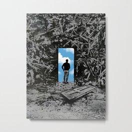 The Optimist Metal Print